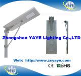 Yaye 18 todos em uma lâmpada solar da estrada do diodo emissor de luz de /60W da luz de rua do diodo emissor de luz de 60W Soalr com 3 anos de garantia