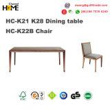 Первоначально таблица твердой древесины обедая в мебели столовой (HC-K21 K28)