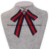 Hook Striped Cloth Kawaii Girl Bow Tie Women Gravata Borboleta Bowtie (E-05)