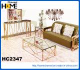 Tabela de chá Home moderna do aço inoxidável da mobília (HC2343)