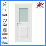 Puerta de cristal blanca del oscilación más blanco popular de la pintura de fondo (JHK-G09)