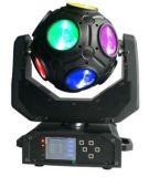 12*20W RGBW 4en1 moviendo la cabeza LED de luz con forma de fútbol cool