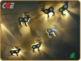 Indicatore luminoso di natale animale del LED 3D di motivo esterno impermeabile dei cervi