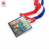 De Lege Medaille van het Flard van het Embleem van het Af:drukken van Cmyk van de douane 4c