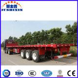 40 pieds 3 d'essieux de Flatted de bâti de conteneur de remorque semi