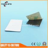 Etiqueta material del metal del PVC NFC del animal doméstico con el número de Uid impreso