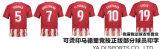 新しい2017/18タイの品質のフットボールのワイシャツクラブサッカーのジャージーによってカスタマイズされるブランクサッカーのジャージ