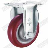 Charges moyennes PU Roue pivotante avec frein supérieur (G3201)