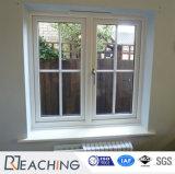 60mm 여닫이 창 내부와 외부적인 Windows 단면도 UPVC 여닫이 창 Windows