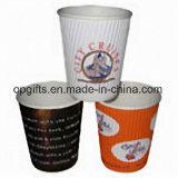 Бумажные стаканчики устранимой изоляции стены потрошителя горячие