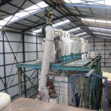 La conception des bâtiments de l'acier Sturcture 200t de farine de blé de mouture Machines Mills 100t