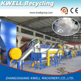 3000-1000kg/H máquina de lavar plástica, planta de recicl do saco da película dos PP do PE