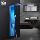 Casa de Banho Separatable Azul Flg Cachoeira do painel de duche multifunção