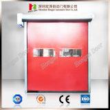 Porta de alta velocidade de rotação rápida de recuperação automática (Hz-FC068)