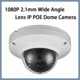 Систем видеонаблюдения и 1080P инфракрасного ночного видения на соответствие стандарту ONVIF Vandalproof купол 2.1mm широкий угол обзора объектива Купольная IP-камера с поддержкой Poe