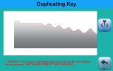 Macchina chiave della copia per i tasti standard e tubolari anche se la base di dati non ha collegato i dati
