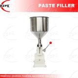 Llenador manual de la goma A03/máquina de rellenar de la goma/máquina de rellenar del agua de China