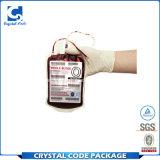 Étiquette adhésive de collant de sac de sang de colle intense de vinyle