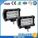 Aluminiumfahrender heller nicht für den Straßenverkehr heller Stab des gehäuse-Auto-4X4 LED des Stab-12 des Volt-5 des Zoll-72W en gros LED