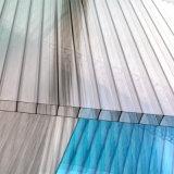 Лист поликарбоната полости стены близнеца типа Китая для крыши