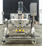 Aço inoxidável cozinha industrial chaleira eléctrica de aquecimento