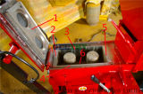 Qmy18-15 en blocs de ciment hydraulique automatique Machine de moulage