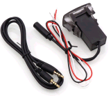 車のBluetooth音楽アダプターのモジュールのパネルのインストール補助の出力