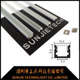 10*8.4mm Mikroprofil des aluminium-LED für Streifen der 6mm Breiten-LED