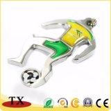 Großhandelszoll Sports Metall Keychain