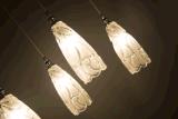 Accueil l'escalier décoratif lustre en verre (AP9004-24)