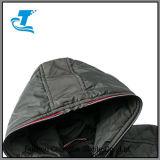 Mulheres Full-Zip térmica da Jaqueta capuz com cordão ajustável