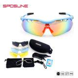 Пользовательские очки от бейсбольного защитные очки Anti-Scratch зеркальных солнцезащитных очков