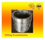 Carburando y apagando los engranajes de anillo internos usados en industria metalúrgica