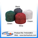 Fieltro de lana bordados Tarboosh marroquíes musulmanes Fez sombreros