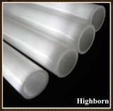 Aislante de tubo Semi-Claro del tubo de cristal de cuarzo fundido