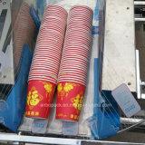 パッキング機械を数える自動2列の紙コップ