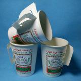 Tazza di carta della nuova acqua di disegno di modo con la vendita diretta della fabbrica della maniglia