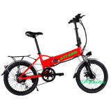 20 polegada Mini-bicicleta eléctrica dobrável/bateria ocultos e moto