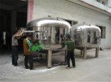 10000 리터 물 저장 압력 탱크 가격이 스테인리스에 의하여 직류 전기를 통했다