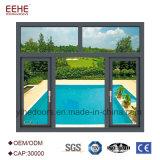 Philippinen-Flügelfenster-Doppelt-Glaswindows-Preis