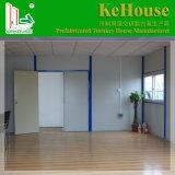 Het beste Geprefabriceerd huis van het Ontwerp met het Gebruik van het Frame van het Staal voor Verkoop