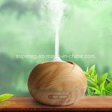 Wholesales wesentliches Öl-Luft-Befeuchter-Aroma-mit Ultraschalldiffuser (Zerstäuber) des hölzernen Korn-400ml
