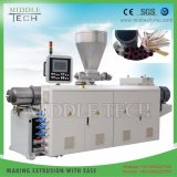 Пластиковый ПВХ/UPVC/SPVC две полости трубы и трубки и шланга штампованный алюминий/экструдер механизма принятия решений