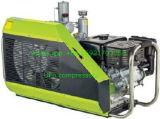 compresor de aire portable del equipo de submarinismo de 225bar 300bar 3.5cfm para respirar