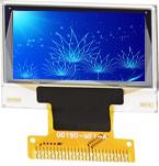 0.66の``販売のためのフルカラーのシリアル表示文字OLEDの表示