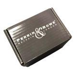 주문 크기 물결 모양 광택 있는 니스로 칠한 포장지 상자