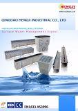 Линейные Stormwater дренажных узкий канал с контроля качества