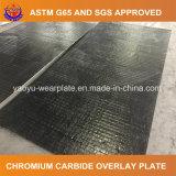 Plaque d'usure surfacée dur par carbure du chrome 6+4