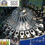 Lavadora plástica rotatoria automática de la botella