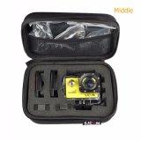 Caja protectora a prueba de choques del bolso de las cámaras de rectángulo del bolso de colección del almacenaje de los accesorios para Sjcam Sj6 Sj7 Gopro Eken